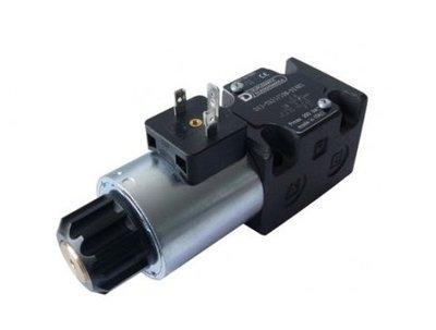 NG6 24 VAC Cetop Elektrisch 4/2 stuurventiel PA verbonden BT verbonden 350 bar