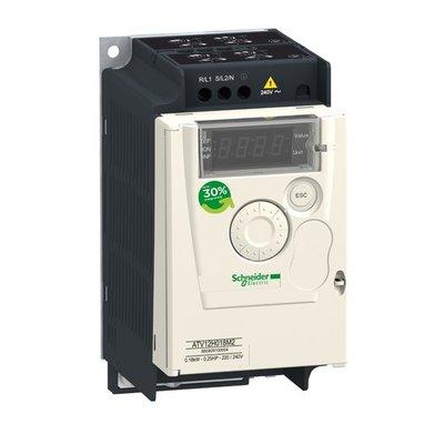 Schneider electric frequentieregelaar 3F 0.75 kW - 200 - 240V