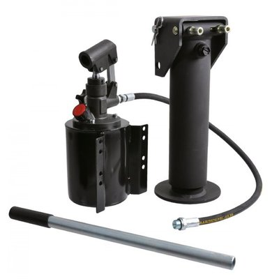 Set steunpoot cilinder cpl. 85-250 met handpomp 5,7 ton