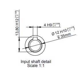 Hydraulische draaikrans 1:62 buitendiameter 188mm