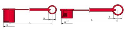 Stofkap voor flat face snelkoppeling 3/8