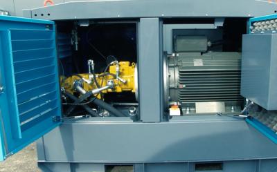 Elektrische (offshore) hydrauliek powerpack met 132kW en 15kW motor
