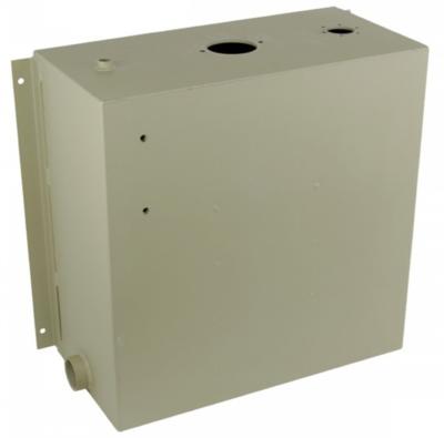 Stalen hydrauliektank KVT met zuigaansluiting en retourfilter 100 liter