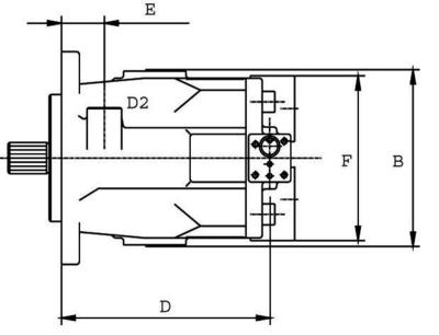 Plunjerpomp open kringloop type LVP-48 LS-2 Z=15 16/32