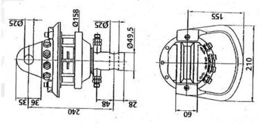 Rotator 3,5 ton