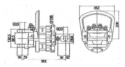 Rotator 6,5 ton