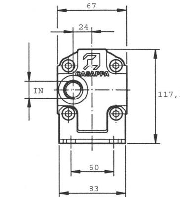 Verdeelmotor PLD20211VPE 11,1cc