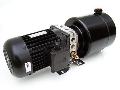 230V hydrauliek powerpack dubbelwerkend circuit