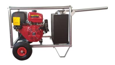 Hydrauliek powerpack met 13pk motor kruiwagenmodel