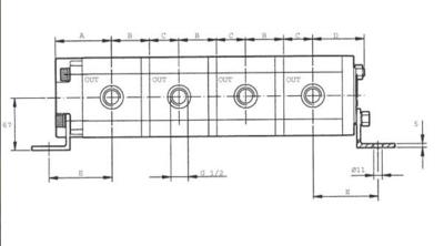 Verdeelmotor PLD10-CS-GS/10.2X 2cc