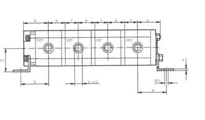 Verdeelmotor PLD20316 16,6cc