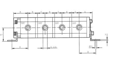 Verdeelmotor PLD20320 20,8cc