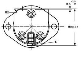 Danfoss orbitmotor type OMM 19,9cc Ø16 met sensor