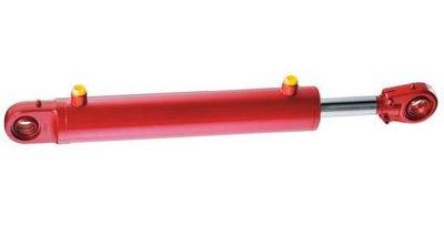 Hydrauliekcilinder 50x30x350 dubbelwerkend met gelenkogen