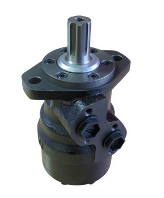 M+S MR125 125 cc hydraulische motor met spline as 25,4 mm