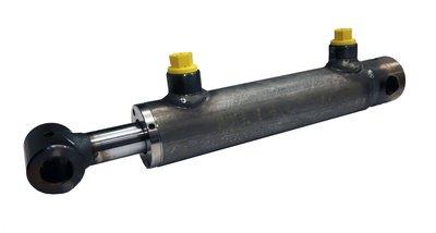 Dubbelwerkende cilinder 25x16x100 met bevestiging