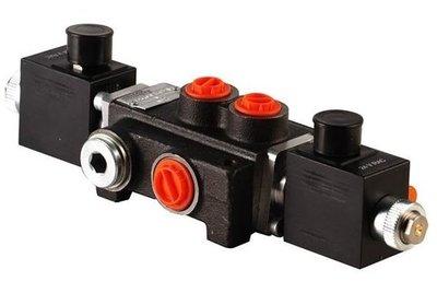 1Z50 1 sectie stuurventiel 50 L/min 24V elektrisch
