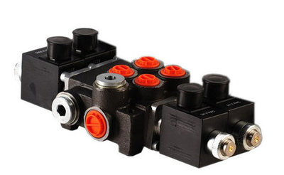 2Z50 2 sectie stuurventiel 50 L/min 24V elektrisch