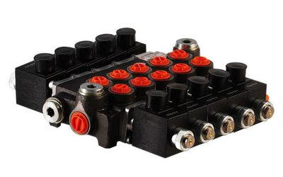 5Z50 5 sectie stuurventiel 50 L/min 24V elektrisch