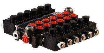 6Z50 6 sectie stuurventiel 50 L/min 24V elektrisch