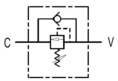 Volgordeklep VS2C 3/4''