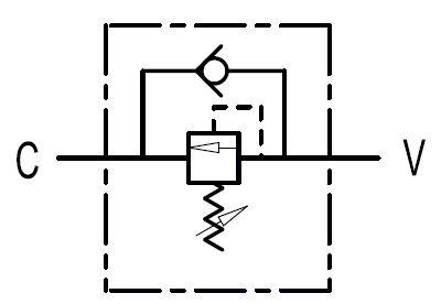 Volgordeklep VS2C 3/8