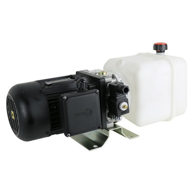 230V 0,55 kW Standaard mini powerpack met 4 liter tank
