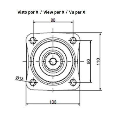 20cc plunjermotor 35 mm spline as
