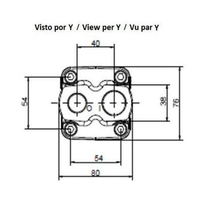30cc plunjermotor 35 mm spline as