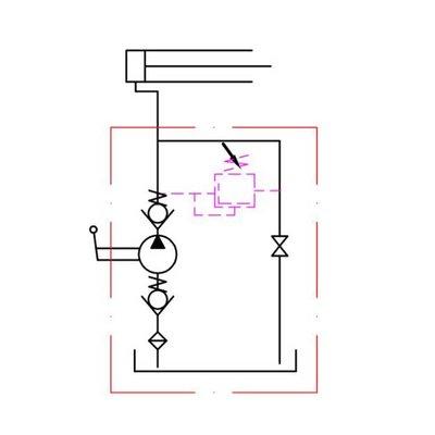 Handpomp 25cc enkelwerkend (tank montage)