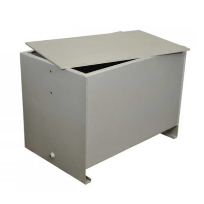 Stalen hydrauliektank PSTM met deksel 225 liter