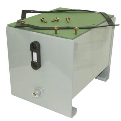 Stalen hydrauliektank PSTM 12 liter complete set
