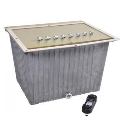 Aluminium hydrauliektank NG 20 liter complete set