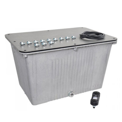 Aluminium hydrauliektank NG 30 liter complete set