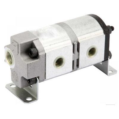 Verdeelmotor, 2 voudig, 4,5-23 l/min