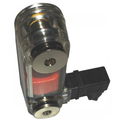 Temperatuur peilglas met schakelaar aansluiting M12, lengte 127 mm