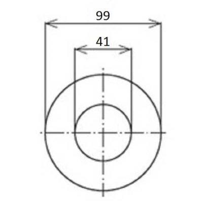 Hydrauliektank retourfilter cartridge 250 L/min 10µ