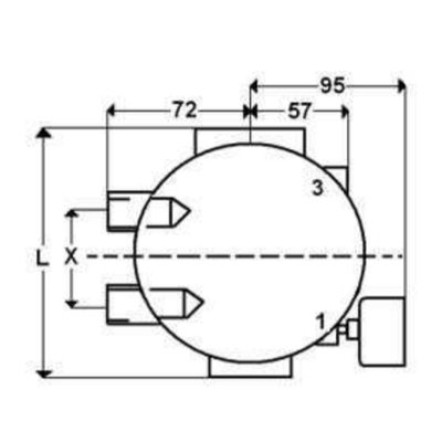 Hydrauliek retourfilter 3/4'' BSP, 10µ, 100 L/min