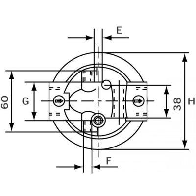 Hydrauliek retourfilter 3/4'' BSP 25µm, 58 L/min
