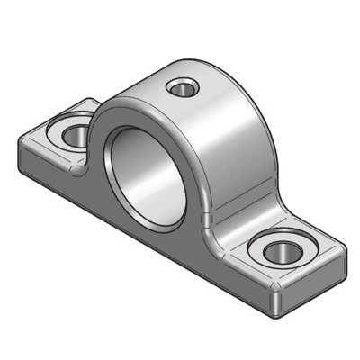 Telescoopcilinder bevestiging met lager Ø45,5 mm