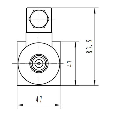 NG6 12V Cetop Elektrisch 4/3 stuurventiel, H-middenstand