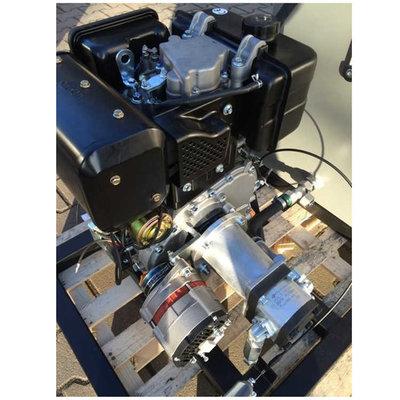 PTM440DPRO dieselmotor met voor gemonteerde tandwielpomp pompgroep 2 en 40A dynamo
