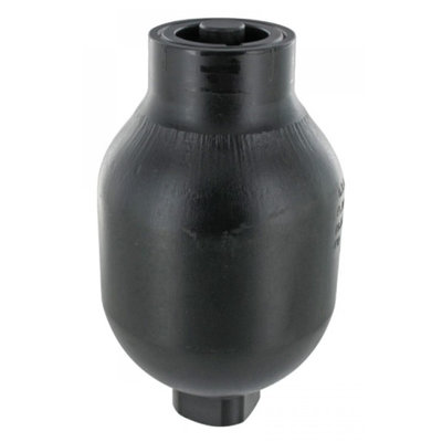 Saip balgaccumulator type LA0.75 145-270 bar vuldruk st. 100 bar M18x1,5 aansluiting 0,75l