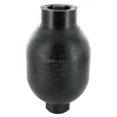 Saip balgaccumulator type LA0.75 145-270 bar vuldruk st. 130 bar M18x1,5 aansluiting 0,75l