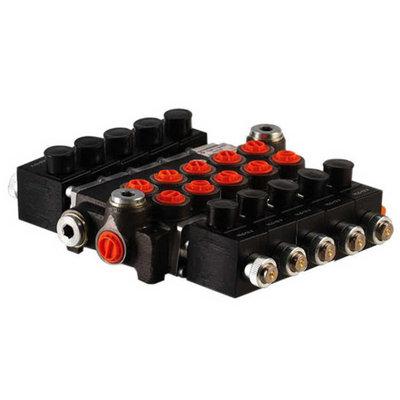 5Z80 5 sectie stuurventiel 80 L/min 12V elektrisch