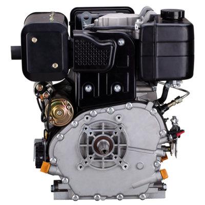 PTM460DPRO 12pk Dieselmotor met voorgemonteerde tandwielpomp pompgroep 2