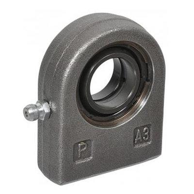 HMB gelenkoog met binnendiameter 25 mm voor cilinder met boring Ø70 mm (Duits model)
