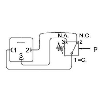 Elektrische niveaumeter, 1 maak- en verbreekcontact, 127 mm