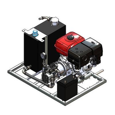 Powerpack met 13 pk benzinemotor