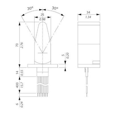 Elektrische hendel voor proportioneel stuurventiel